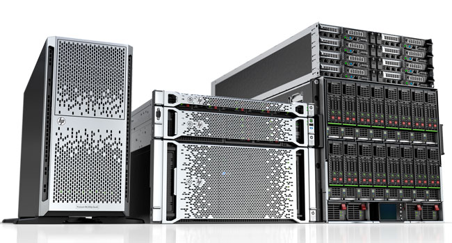 Photo of Industrial Network Servers.