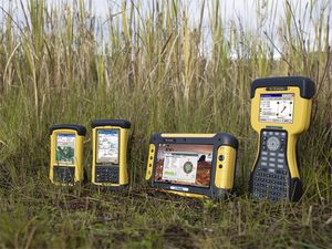 Photo of Trimble Ultra-Rugged Handheld Computers Including 
